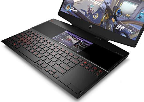 HP Omen X 2S Core i9 9th Gen 15.6-inch Dual Screen Gaming Laptop (16GB/2TB SSD/Windows 10/8GB NVIDIA RTX 2080 Graphics/Shadow Black), 15-dg0019TX Image 5