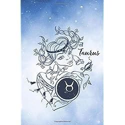 Taurus Zodiac Journal | A star of destiny: Astrology design lined notebook Vol.2