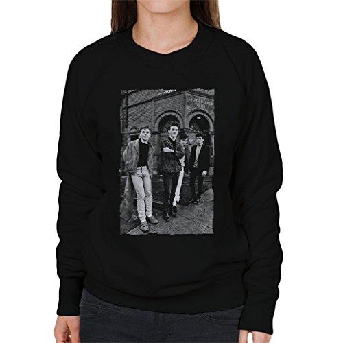 The Smiths Alternative Shot Salford Lads Club 1985 Women's Sweatshirt Black