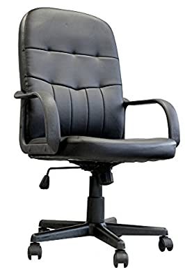 Eliza Tinsley Medium Orion Back Manager Chair - Black - cheap UK light store.
