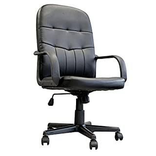 Eliza Tinsley Medium Orion Back Manager Chair - Black