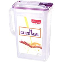 Princeware Click N Seal Water Jug, 2 Litres, Violet