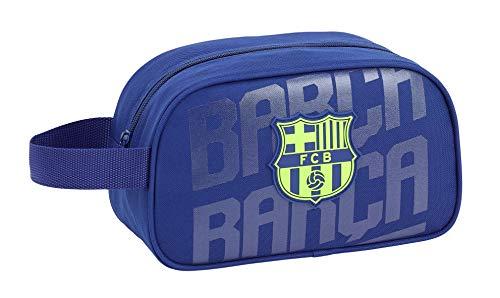 FC Barcelona Neceser, Bolsa de Aseo Adaptable a Carro.