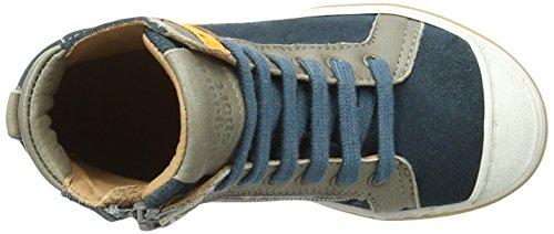 Bisgaard Unisex-Kinder Schnürschuhe High-Top Blau (1003-1 Petrolio)