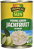 Tropical Sun Young Green Jackfruit In Brine 560 g (Pack of 6)