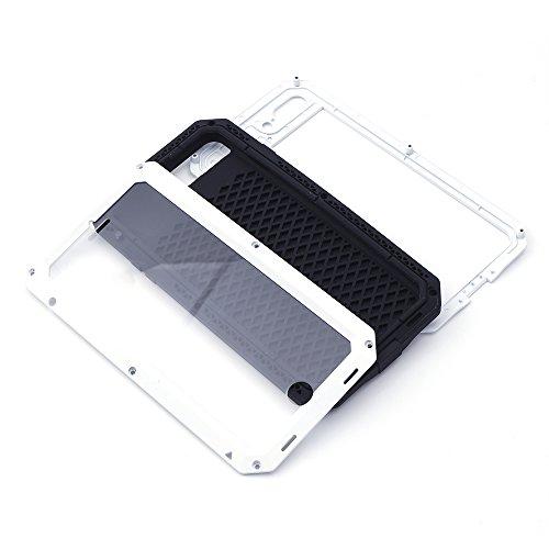 iProtect Apple iPhone 7 Plus Outdoor Case Schutzhülle Hartglas Shock- and Dirtproof in gelb Apple iPhone 7 Plus Case Shockproof Weiß