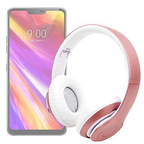 DURAGADGET Cuffie Wireless per Cellulare Huawei Honor Play/Mate 20 Lite | Motorola One/One Power | Sony Xperia XZ3 | Wiko Harry2 / View 2 Go/View 2 Plus | ZTE Axon 9 PRO – Hands Free + Radio FM