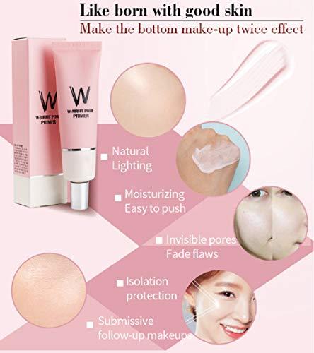 Cosmetics Facial Primer Basis Make-up für Gesicht glatte Haut unsichtbare Poren mit Rosenessenz vor der Grundierung aufhellen
