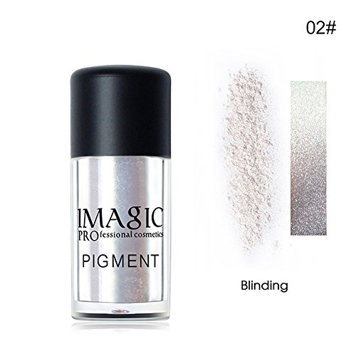 Lip Pigment (Lidschatten-Glitzer,Lip Brighten OYOTRIC Mineral Pigment Metallic Pulver Glitter Töpfe Für Nail art Gesicht Und Körper)