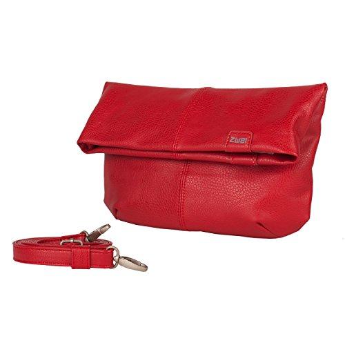 Due Mademoiselle M4/il sacchetto di sera borsa a tracolla Rosso - rosso