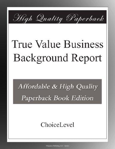 true-value-business-background-report