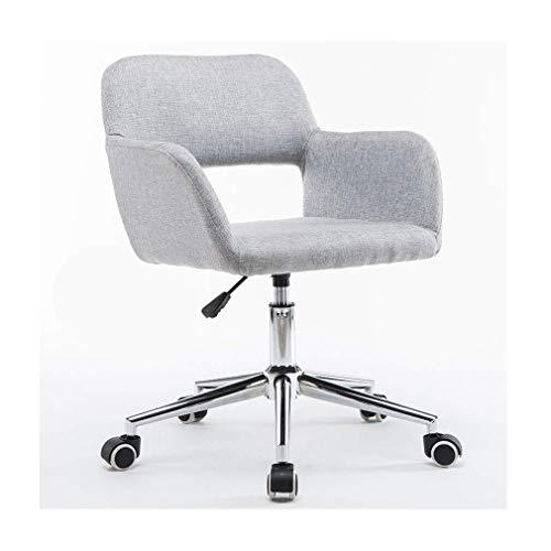 YDHYYDQCFJL Verstellbarer Bürostuhl - Drehstuhl Gaming-Stuhl Freizeit Drehstühle Home Office Schreibtischstuhl Höhenverstellbarer Fashion Sofa Chair Weiches Sitzkissen (Color : #2) -