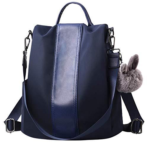 Haludock Frauen-Damen-Kaninchen-Diebstahl-Fester Kurier-wasserdichte Handtaschen-Totes-Schulter-Doppelrucksack-Beutel Lacoste Protect Strap