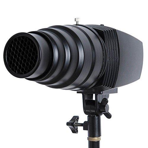 Godox SN-03-Fascio di luce Snoot, con griglia a nido d'ape,