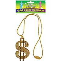 Henbrandt Dollar Medallion String Cord, Gold, One Size