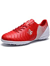 Saekeke Zapatos de Fútbol Niños Entrenamiento FG/TF Profesionales Botas de Futbol