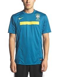 Nike - Brasil 2ª Camiseta 11 12 Hombre Color  Verde Talla  S 8fe615c7bc256