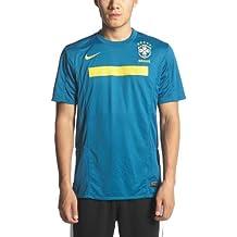 Nike - BRASIL 2ª CAMISETA 11/12 color: Verde talla: XL