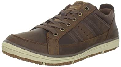 Skechers Irvin Hamal, Baskets mode homme - Marron (Cdb), 39 EU (5.5 UK) (6.5 US)
