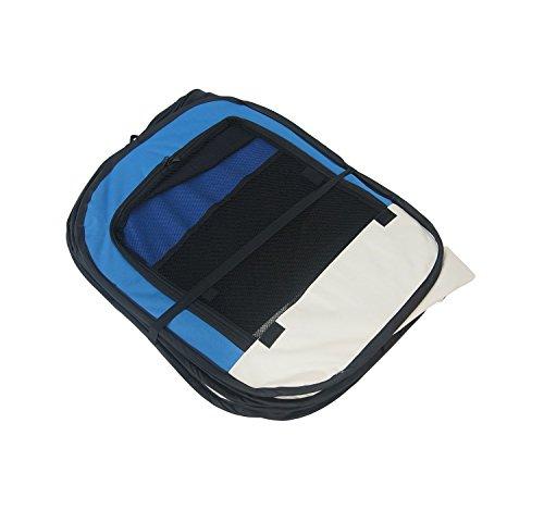 Lolipet - Blauer Freilaufgehege - großer Tierlaufstall für innern oder außen - einfach aufzubauen -