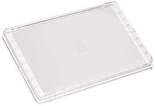 Mikrotiterplatten BRANDplates, 1536-well, pureGrade? S, PS, transparent, Standard, F-Boden, steril, mit Deckel