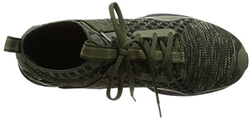Puma Ignite Evoknit Herren Sneaker Grün GREEN|KHAKI