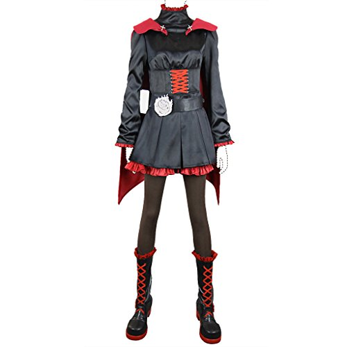 Holysteed Rwby-Red Trailer Cosplay Costume Ruby Rose Costume Set X-Large
