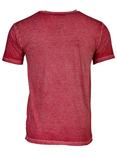 TREVOR'S HARDY Herren T-Shirt mit Rundhalsausschnitt und Brusttasche aus Baumwolle und Polyester - soziale fair trade Kleidung, Mode vegan und nachhaltig Color kir-royale, Size S - 2