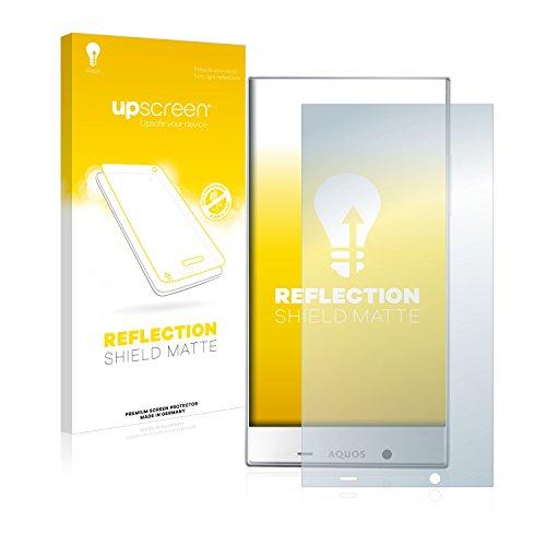 upscreen Matt Schutzfolie kompatibel mit Sharp Aquos Crystal X - Entspiegelt, Anti-Reflex, Anti-Fingerprint - Sharp Screen Protector Crystal