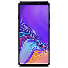 SAMSUNG Galaxy A9 2018 SM-A920F Dual SIM – Unlocked – 4G LTE – 6.3″ Screen – 6GB/128GB Memory – Quad Camera – 24MP Selfie Camera – International Version – NO Warranty – Black