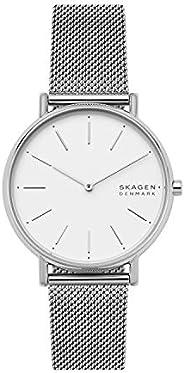 Skagen Signatur Women's White Dial Stainless Steel Analog Watch - SKW