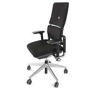 steelcase please ergonomischer chefsessel mit zweigeteilter r ckenlehne b rostuhl 4in1. Black Bedroom Furniture Sets. Home Design Ideas