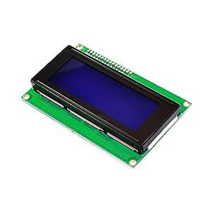 keyestudio I2C LCD 20x 42004LCD-Display-Modul für Arduino weiß Buchstaben auf Blau