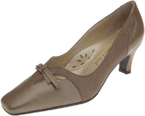 Van Dal Garret 1235820, Damen Fashion-Schuhe mit Absatz, taupe/lizard, 39.5 EU / 6 UK Taupe Lizard