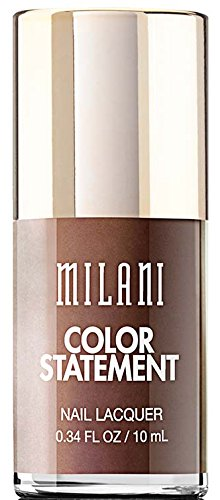 Milani Color Statement Nail Lacquer, Bronze, 0.34 Fluid Ounce by Milani