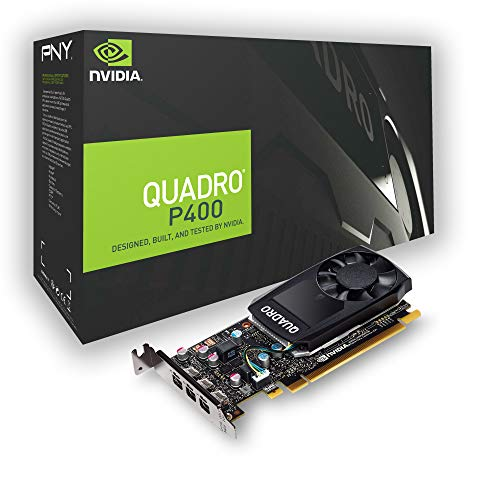 PNY Quadro P400PCI Express 3.0x16LP 2GB GDDR5de 64bit 3x Mini DP 1.4