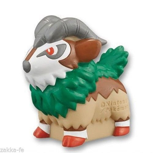 Pokemon Kids XY Puppet Figure~New Adventure~673 Googoto Gogoat Chevrumm Chevroum~44mm~