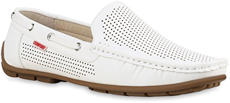 Stiefelparadies Herren Klassische Slippers Cut Outs Flandell