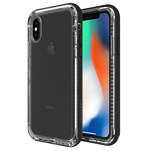 LifeProof 77-57186 Custodia Serie Next Protezione in Azione per Apple iPhone X, Nero