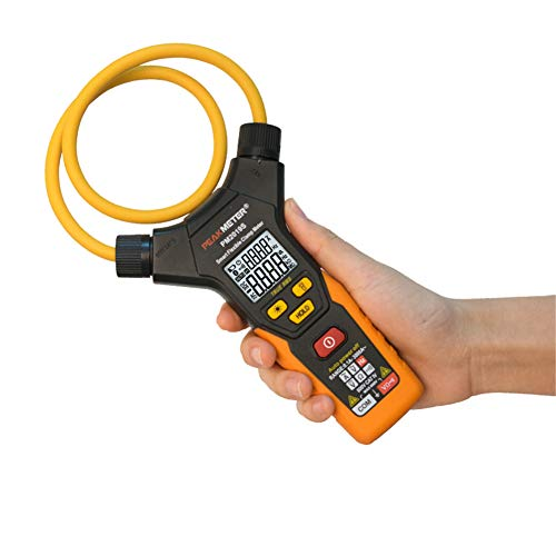 GMTes Smart AC Digital Flexible Clamp Meter Multimeter, Handheld 3000A Current Voltage Resistance Frequency Tester Amperometric Clamp Electrical Detector Voltage Detector Kit
