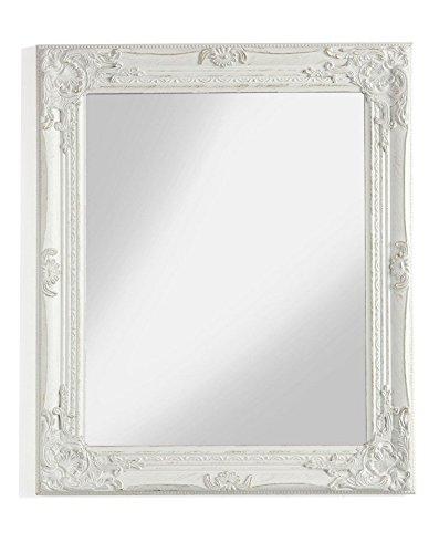 MONTEMAGGI Specchio Rettangolare da Parete con Cornice in Legno ...