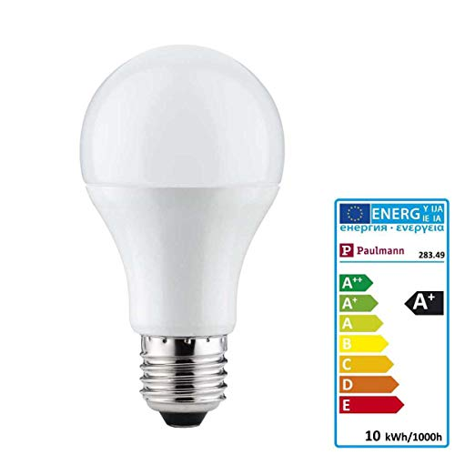Paulmann 28349 LED Premium AGL Leuchtmittel 10Watt Allgebrauchslampe dimmbar E27-Sockel 230V 2.700K Warmweiß 806 Lumen