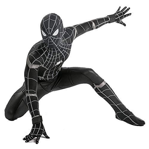 Marvel Einfach Girl Kostüm - ZHANGQI Kostüme Unisex Erwachsene Kinder Lycra Spandex Spinne Cosplay Siam Strumpfhosen Spinnenmäntel Kostüme Erwachsene Kinder Geschenk,Kid-XL