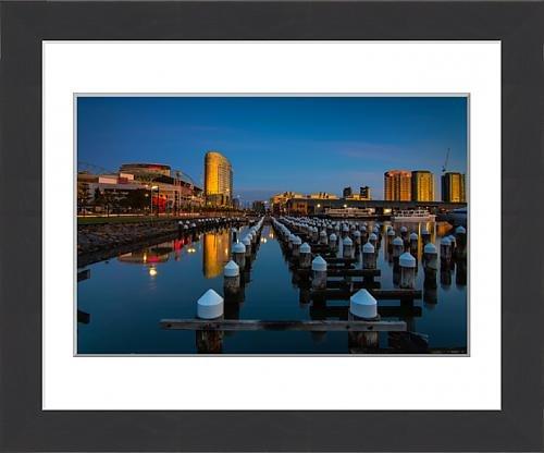 framed-print-of-melbourne-dockland-sunset