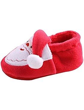 Schön Baby Weihnachtsschuhe,Amcool Kleinkind Säugling Neugeboren Weihnachtsmann Weiche Sohle Baby Prewalker Schuhe