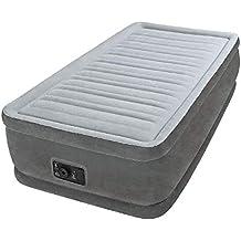 Intex 64412 - Colchón hinchable Fibertech comfort Plush 99 x 191 x ...