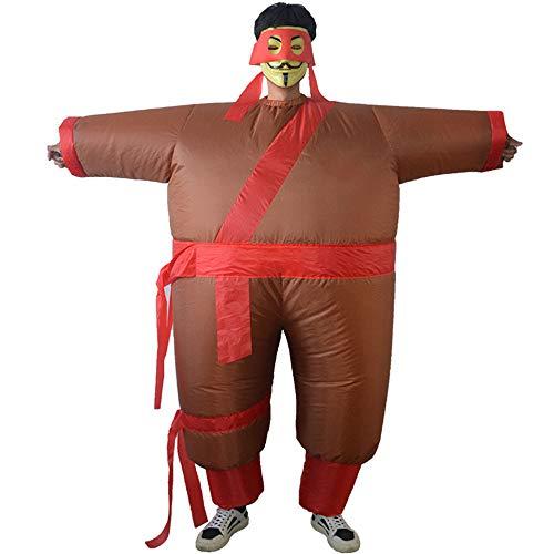 MKHDD Halloween Aufblasbare Ninja Kostüm Erwachsene Lustig Dress up Luxus Aufblasbare Cosplay Kostüm ()