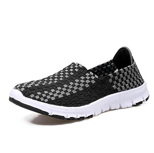 De Mão Preguiçoso Cinza Calçados Esportivos Lazer À Calçados Femininos Feitos Sapatos Lldmb Negra Yw7qv8x1F