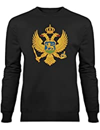Montenegro Coat of Arms Sweatshirt by Shirtcity
