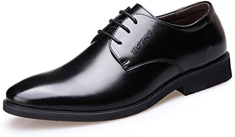Koyi Zapatos de Hombre Primavera nuevos Zapatos de Vestir de Hombres de Negocios Inglaterra Zapatos de Cordones...